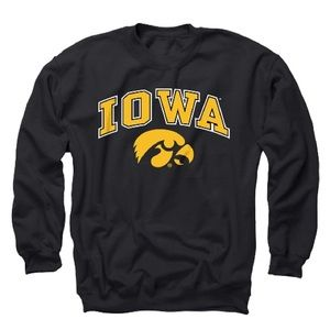 NCAA University of Iowa Crewneck NWT